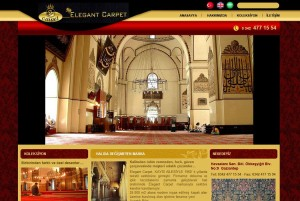 Elegant Carpet website
