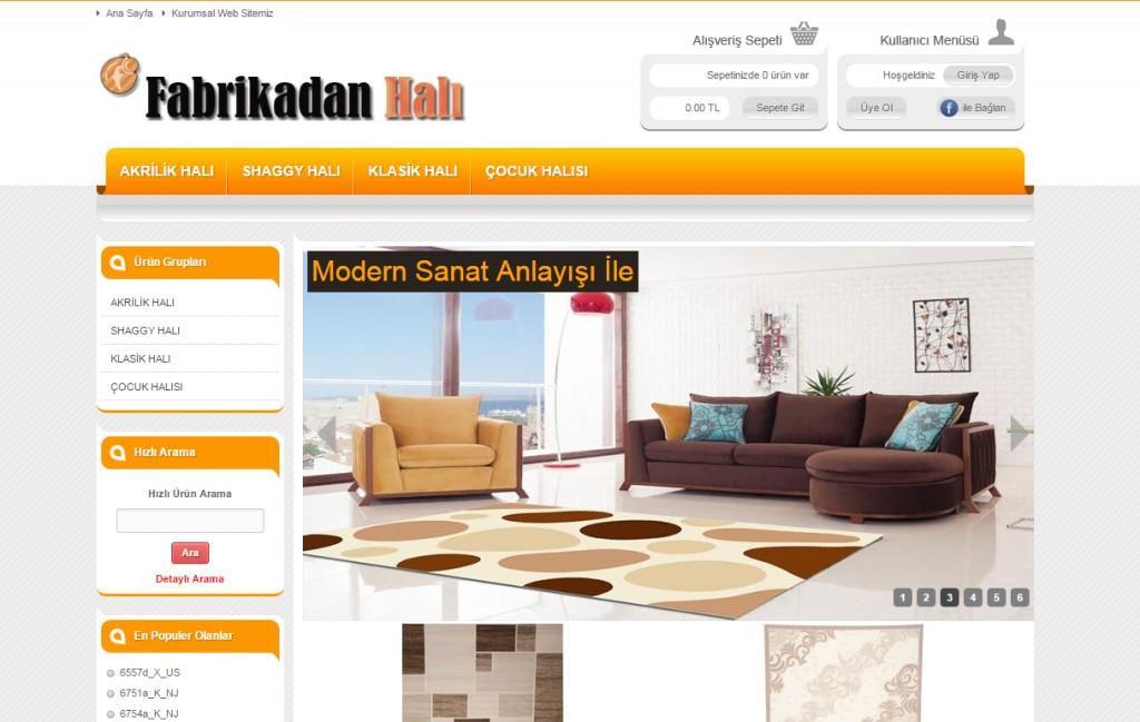 Gaziantep e-ticaret website fabrikadanhali.com
