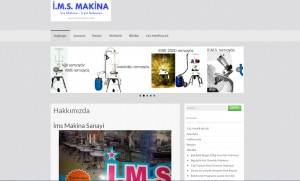 imsmakina website tasarım